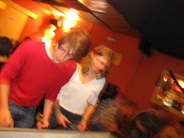 I baren på Wombats